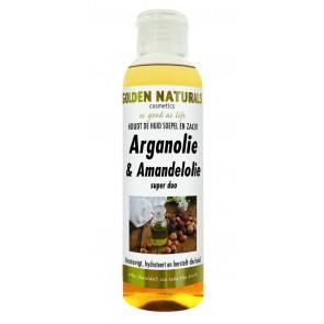 Golden Naturals Argan & Amandelolie