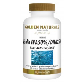 Golden Naturals Visolie EPA 50% DHA 25%