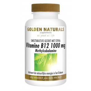 Golden Naturals Vitamine B12 1000mcg. Methylcobalamine