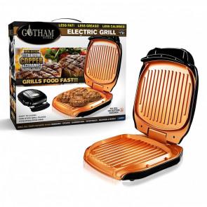 Gotham Steel Low Fat Grill - Elektrische Grillplaat