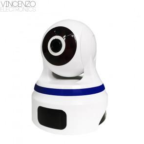 Vincenzo Electronics - HD Wifi Slimme Beveiligingscamera met bewegingssensor