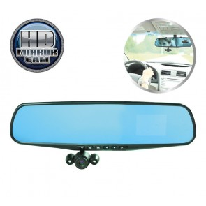 HD Mirror Cam dashcam 720P