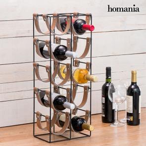 Homania metalen flessenrek (10 flessen)
