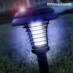 Innovagoods Anti – Muggenlamp & Led Lamp op Zonne-energie