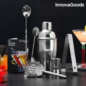 InnovaGoods Cocktail set met receptenboek