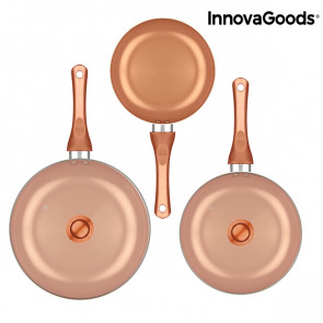 Innovagoods Copper-Effect Pannenset 5 – delig