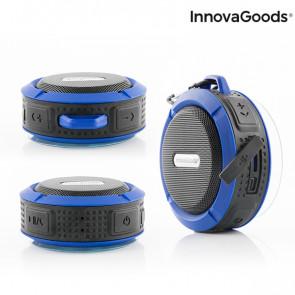 Innovagoods waterbestendige draagbare draadloze bluetooth luidspreker
