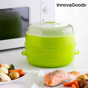 Innovagoods Dubbele Magnetron-Steamer