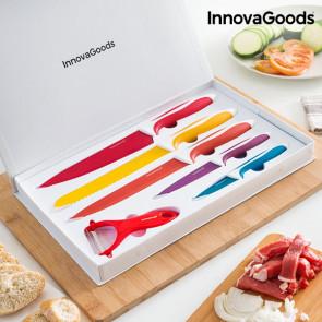 Innovagoods keramische mes en schil set (6 stuks)