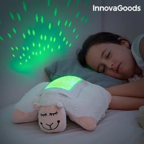 Innovagoods Knuffelschaap met Ledprojector