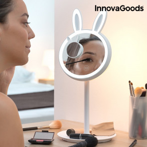 Innovagoods         2 in 1 make-up konijn LED   spiegel