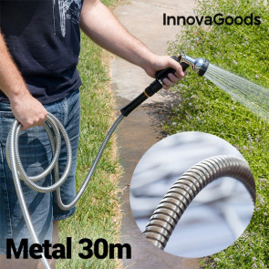 Innovagoods Metalen Tuinslang 30M