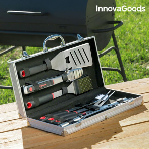 InnovaGoods Professionele Barbecue Gereedschapset