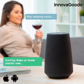 InnovaGoods VASS Intelligent Bluetooth Speaker Voice Assistant