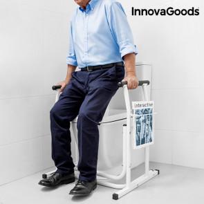 InnovaGoods Veiligheidssteun Met Tijdschriftenrek Voor Het Toilet
