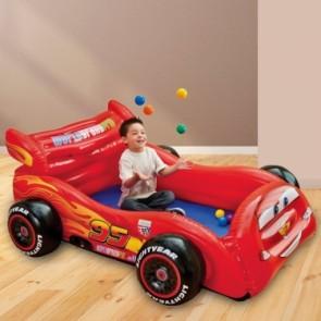 Intex Cars opblaasbare Ballenbak met Ballen