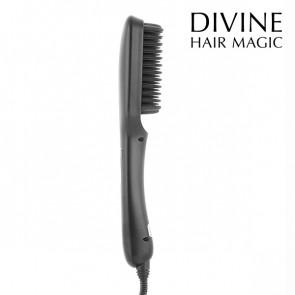 Iondict elektrische stijlmakende haarborstel