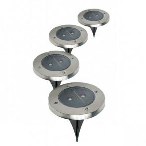 Ideaworks RVS Solar Tuinlampen