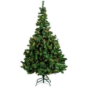 Christmas Gifts Kerstboom Zilverspar 120cm + 1 x 48LED kerstverlichting