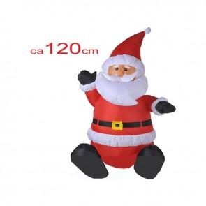 Kerstman opblaasbaar 120 cm.