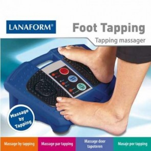 Lanaform Foot Tapping - Voetmassageapperaat - Blauw