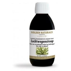 Golden Naturals Luchtwegensiroop 200ml.