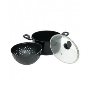 Magic Pot Maker - Stoom - Kookpan met geïntegreerde Vergiet
