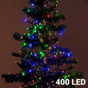 Kerstverlichting gekleurd 400 Leds