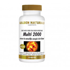 Golden Naturals Multi 2000. 30 tabletten