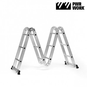 PWR Work Multifunctionele Vouwbare Ladder