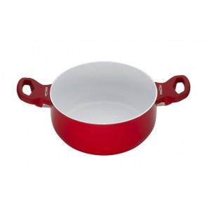 Pedrini rood braadpan 20 cm
