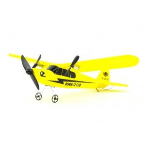 Lichte en stevige RC vliegtuig 2.4 GHz 2 kanaal Piper J-3 Cub RTF