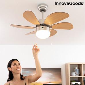 Plafondventilator met Ingebouwde Lamp