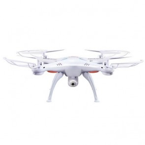 Gemakkelijk te besturen helikopter Quad-Copter Syma X5SC 2.4G 4-kanaal met Gyro + camera wit