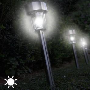 ronde tuinlampen, zonne lamp