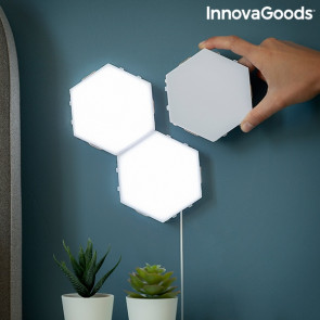 Innovagoods Tilights - Modulaire Magnetische LED - Panelen met Touch Control