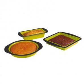silliconen bakvorm, metalen handvat, kitchen artist
