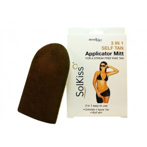 Solkiss 3 in 1 self-tan Applicator Mitt