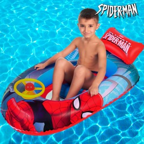 spiderman opblaasbare boot, opblaasbare boot van spiderman,