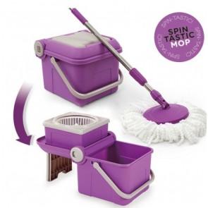 Spin Tastic Mop Zwabber & vouwbare emmer