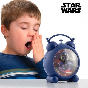 Star Wars Wekker blauw