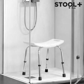 Geen ongelukken meer onder de douche dankzij de douchekruk van Stool+