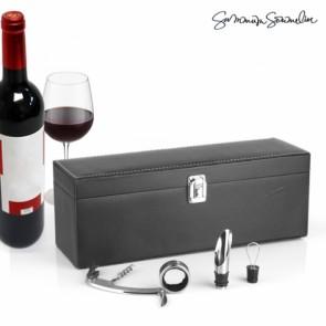 Stijlvolle, exclusieve en elegante wijn geschenkset van Summom sommelier
