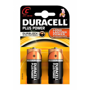 Duracell Plus Power Duralock 1,5v C LR14/ MN1400