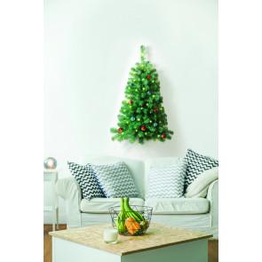 Ideaworks Halve Muur Kerstboom met verlichting