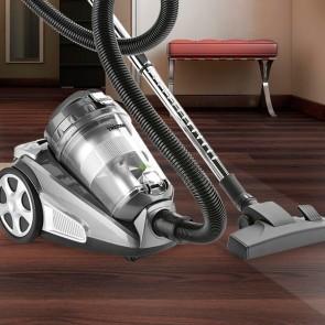 Gemakkelijk de vloeren en meubels schoonmaken met de zakloze stofzuiger SZ2135 van Tristar