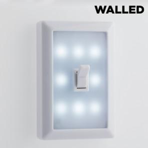 Walled LED Lichtschakelaar SW15