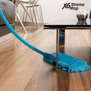 X6 Xtreme, Flexibele Mop blauw