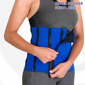 Zipper slimmer  hot sauna belt
