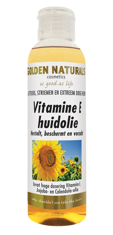 Golden Naturals Vitamine E Huidolie 150ml